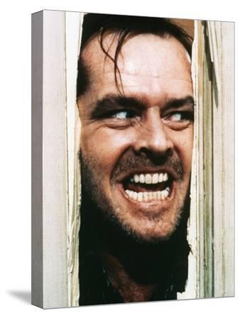 The Shining, Jack Nicholson, Directed by Stanley Kubrick, 1980--Stretched Canvas Print
