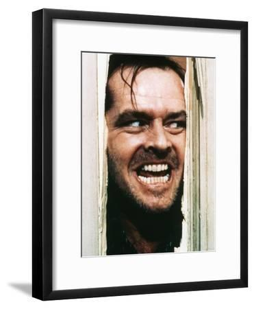 The Shining, Jack Nicholson, Directed by Stanley Kubrick, 1980--Framed Photo