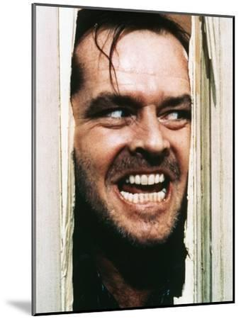 The Shining, Jack Nicholson, Directed by Stanley Kubrick, 1980--Mounted Photo