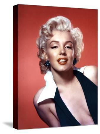 Marilyn Monroe 1952 L.A. California Usa--Stretched Canvas Print
