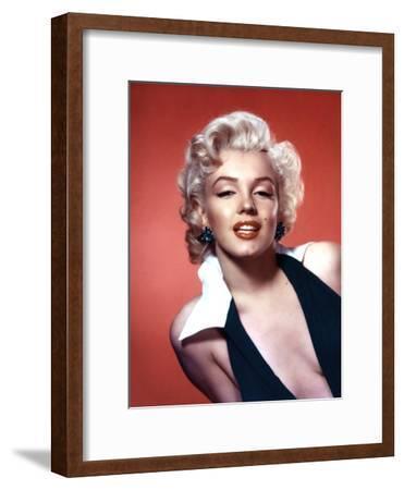 Marilyn Monroe 1952 L.A. California Usa--Framed Photo