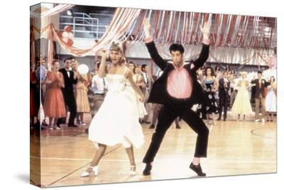 Grease 1978 Directed by Randal Kleiser Olivia Newton-John and John Travolta--Stretched Canvas Print