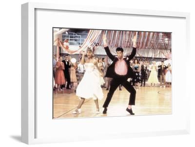Grease 1978 Directed by Randal Kleiser Olivia Newton-John and John Travolta--Framed Photo