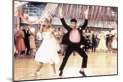 Grease 1978 Directed by Randal Kleiser Olivia Newton-John and John Travolta--Mounted Photo