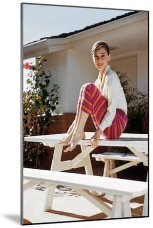 Audrey Hepburn 1954--Mounted Photo