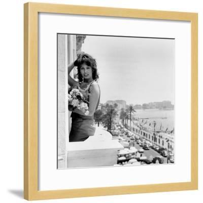 Sophia Loren--Framed Photo