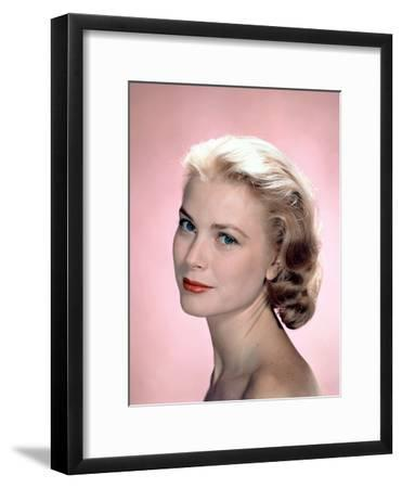 Grace Kelly in the 50's--Framed Photo