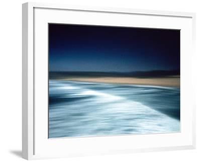 Abstract Seascape Portugal--Framed Photographic Print