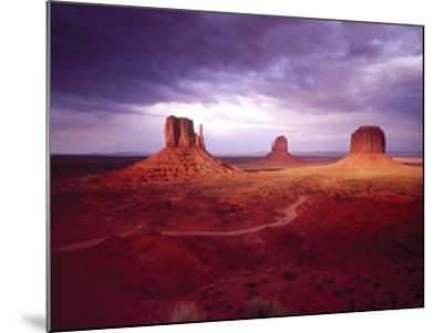 Storm Monument Valley UT \ AZ USA--Mounted Photographic Print