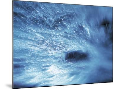 Abstract Water Splash--Mounted Photographic Print