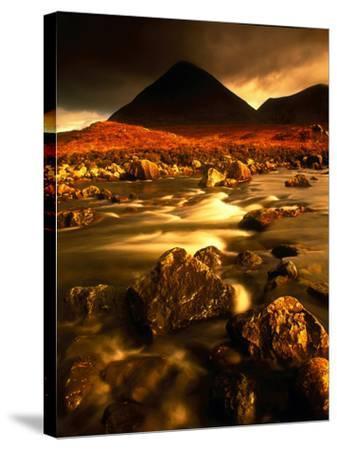 Isle of Skye Highlands Scotland--Stretched Canvas Print