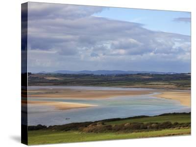 The Backstrand in Tramore Bay,Tramore,County Waterford, Ireland--Stretched Canvas Print