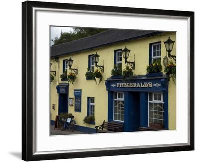 Fitzgerald's Bar in Avoca Village, A.K.A. Ballykissangel, County Wicklow, Ireland--Framed Photographic Print