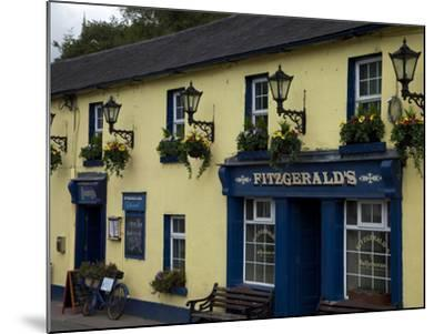 Fitzgerald's Bar in Avoca Village, A.K.A. Ballykissangel, County Wicklow, Ireland--Mounted Photographic Print