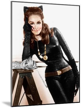 Batman, Julie Newmar, 1966-68.--Mounted Photo