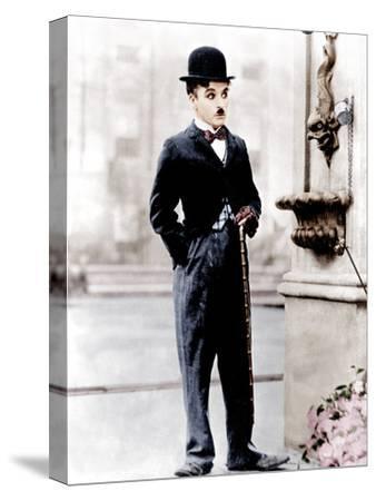 City Lights, Charlie Chaplin, 1931--Stretched Canvas Print