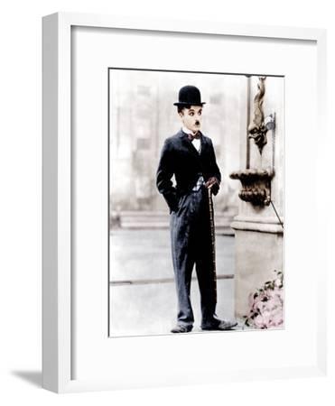 City Lights, Charlie Chaplin, 1931--Framed Photo