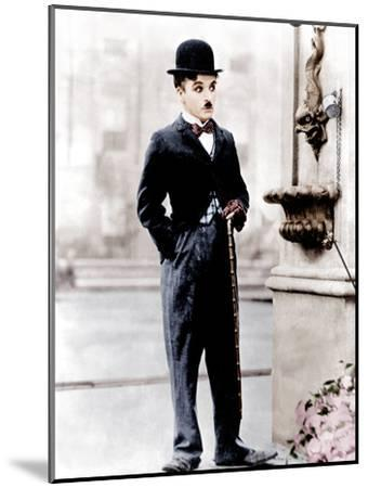 City Lights, Charlie Chaplin, 1931--Mounted Photo