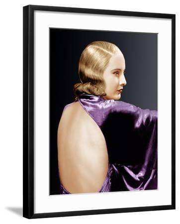 Baby Face, Barbara Stanwyck, 1933--Framed Photo