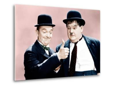 Way Out West, Stan Laurel, Oliver Hardy, 1937--Metal Print