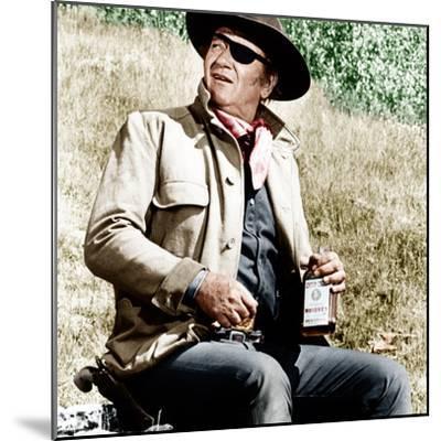 TRUE GRIT, John Wayne, 1969--Mounted Photo