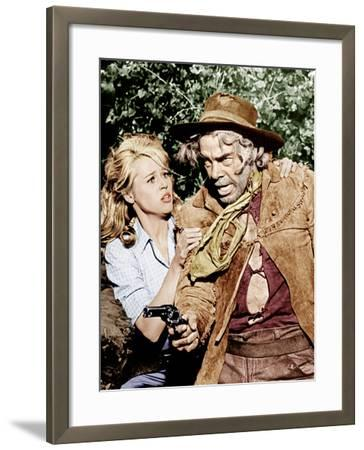 Cat Ballou, Jane Fonda, Lee Marvin, 1965--Framed Photo