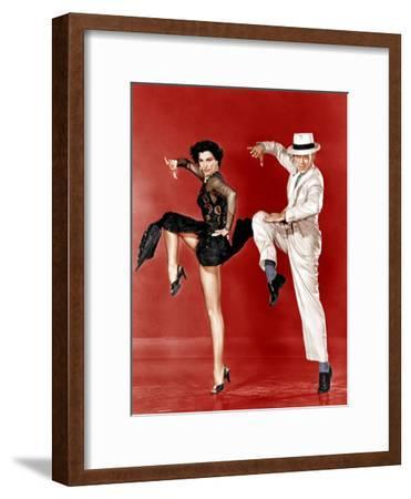 THE BAND WAGON, from left: Cyd Charisse, Fred Astaire, 1953--Framed Photo