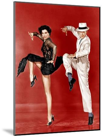 THE BAND WAGON, from left: Cyd Charisse, Fred Astaire, 1953--Mounted Photo