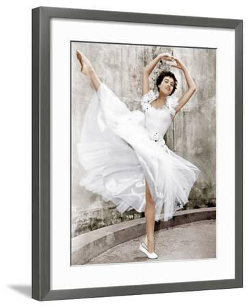An American in Paris, Leslie Caron, 1951--Framed Photo