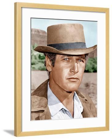 Butch Cassidy and the Sundance Kid, Paul Newman, 1969--Framed Photo