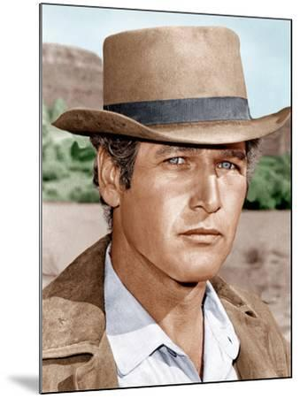 Butch Cassidy and the Sundance Kid, Paul Newman, 1969--Mounted Photo