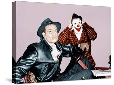THE GREATEST SHOW ON EARTH, from left: Charlton Heston, James Stewart, 1952--Stretched Canvas Print