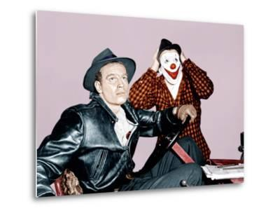 THE GREATEST SHOW ON EARTH, from left: Charlton Heston, James Stewart, 1952--Metal Print