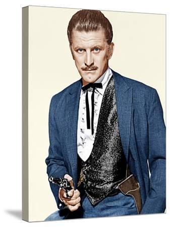 GUNFIGHT AT THE O.K. CORRAL, Kirk Douglas, 1957--Stretched Canvas Print
