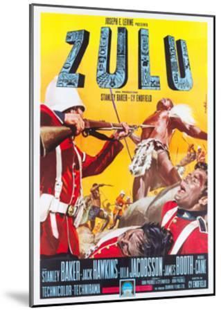 ZULU, Italian poster art, 1964.--Mounted Art Print