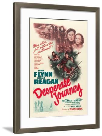 Desperate Journey, 1942--Framed Art Print