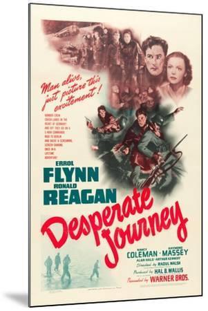 Desperate Journey, 1942--Mounted Art Print
