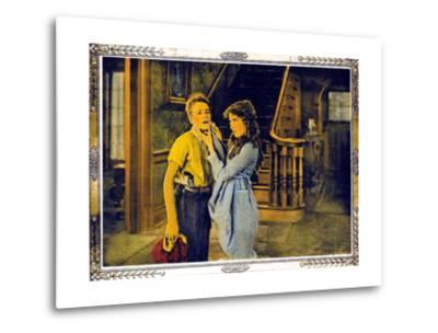 POLLYANNA, l-r: Howard Ralston, Mary Pickford on lobbycard, 1920.--Metal Print