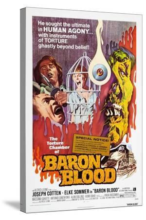Baron Blood (aka Gli Orrori del Castello di Norimberga)--Stretched Canvas Print