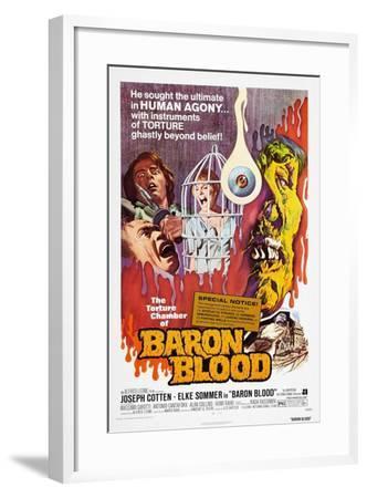Baron Blood (aka Gli Orrori del Castello di Norimberga)--Framed Art Print