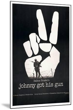 JOHNNY GOT HIS GUN, US poster, 1971--Mounted Art Print