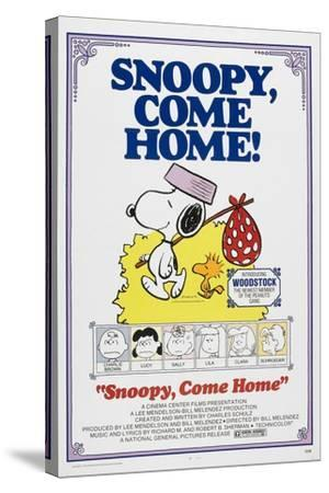Snoopy, Come Home!--Stretched Canvas Print