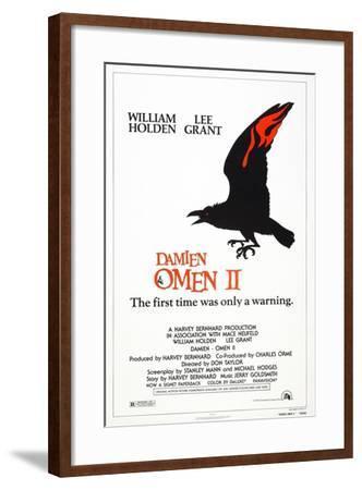 Damien: Omen II, US poster, 1978, TM & Copyright © 20th Century Fox/courtesy Everett Collection--Framed Art Print