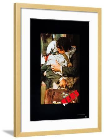 Reds, Diane Keaton, Warren Beatty, 1981, © Paramount Pictures/ Courtesy: Everett Collection--Framed Art Print