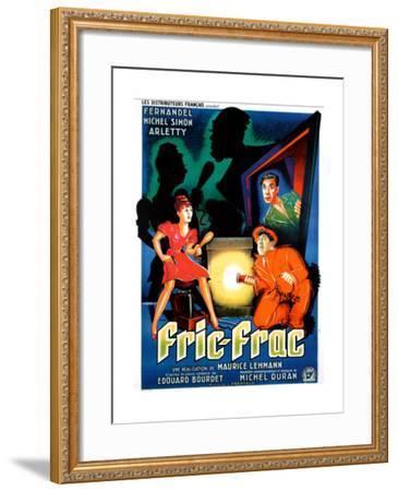 Simplet Fernandel vintage French movie poster print