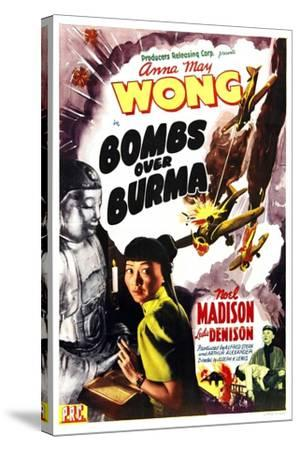 Bombs Over Burma, Anna May Wong, 1943--Stretched Canvas Print
