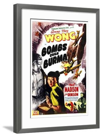 Bombs Over Burma, Anna May Wong, 1943--Framed Art Print