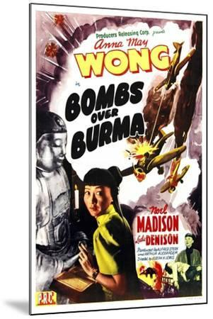 Bombs Over Burma, Anna May Wong, 1943--Mounted Art Print