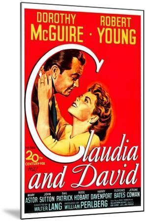 Claudia And David--Mounted Art Print