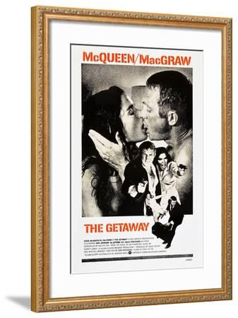 THE GETAWAY--Framed Art Print